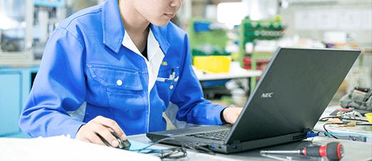 産業用ロボットの企画・設計・製造 アイズロボ株式会社 企画から立ち上げまで一貫した製作体制